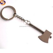 2018 wholesale tools axe shaped keychain ring keyring key chain