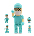 Bulk cheap Custom Doctor usb flash drive Medicine robot doll stick 2gb 4gb 8gb for promotional gift