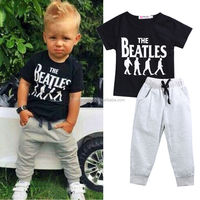 New Cheap T-shirt+ Pants boutique baby toddler clothing clothes