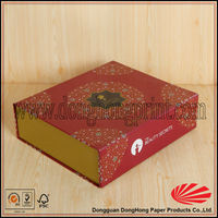 Super quality foldable cardboard paper custom cd gift boxes manufacturers (DH1086#)