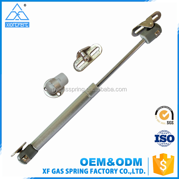 Factory supplier hot sale steel material compression cabinet lift support silver gas spring 80n