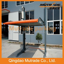 CE approved garaje 2 post mechanical hydraulic car garage parking lift
