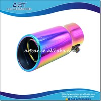 multicolour new special design car exhaust muffler tail pipe