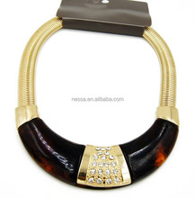 Fashion necklace 24k gold plated jewellery wholesale C23-573