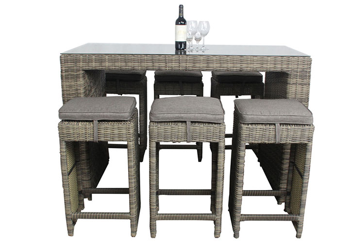 Hight quality garden table set outdoor garden round table set garden patio table set