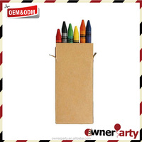 nontoxic creative colored crayon 8 pack