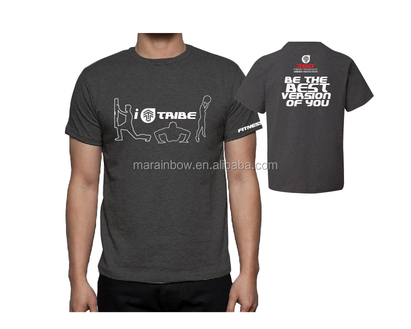 performance shirt athletic custom for men wholesale with OEM logo printed