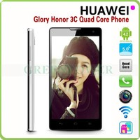 HUAWEI Honor 3C H30-U10 Smartphone MTK6582 Quad Core 5.0 Inch HD OGS Screen 3G 1280x720P RAM 2G ROM 8GB Android cellPhone