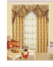 Luxury beige alibaba Gold Supplier embroider curtain