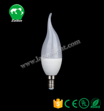High quality dimmable led lights 4W led candle light for home and commercial spaces
