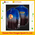 Dye sublimation fishing jersey