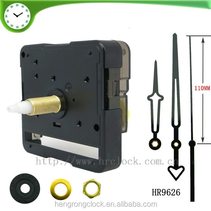 Clock movement manufacturers young town quartz sweep clock mechanism