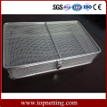 Fine Wire Mesh Basket With Lid/Stainless Steel Baskets