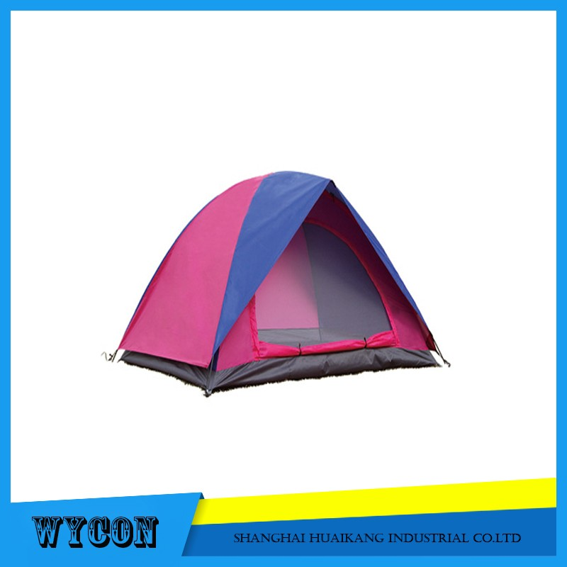 camping tent with Aluminum poles and auto poles