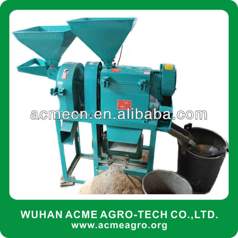AMC04-6 Home Mini sand roller rice mill home for sale(family use type)