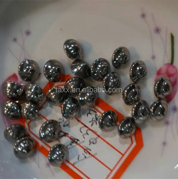 Stainless Steel Flying Saucer Steel Ball for fine polishing and grinding
