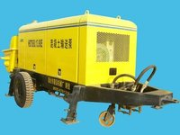 trailer concrete pump motor drive