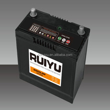 Hot sale 55b24r 12v 45ah auto car battery wholesale