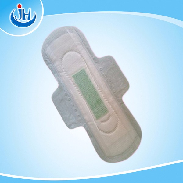 oem brand name female green strip anion sanitary napkin manufacturer