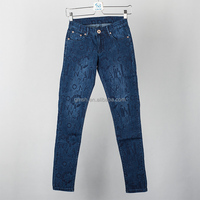Magic Show ladies jeans top design Hotsale Women's Boyfriend Vintage Mid wash Jean