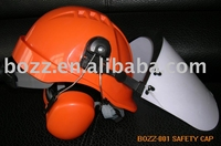 CE ABS Protect Face Ear Head Work industrial Safety Helmet