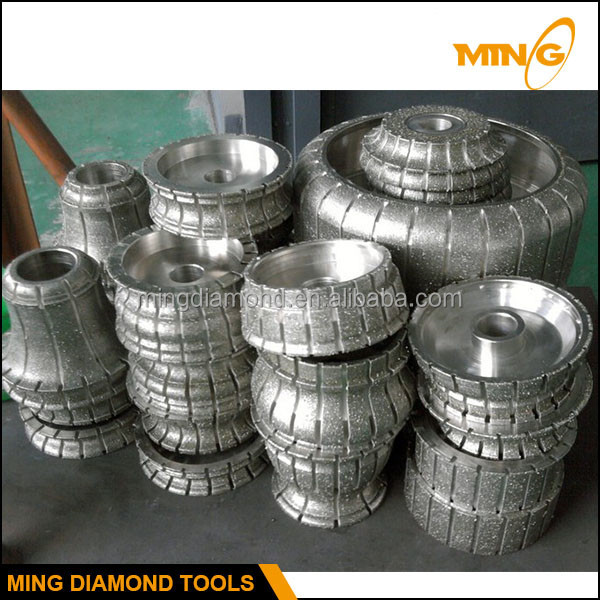150mm 250mm 350mm Electroplated Diamond Wheel For Stone Profiling