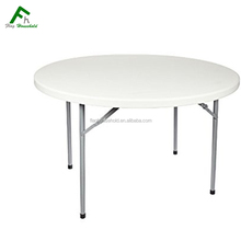 180 183 cm 10 seaters Metal Legs Plastic Folding Catering Table