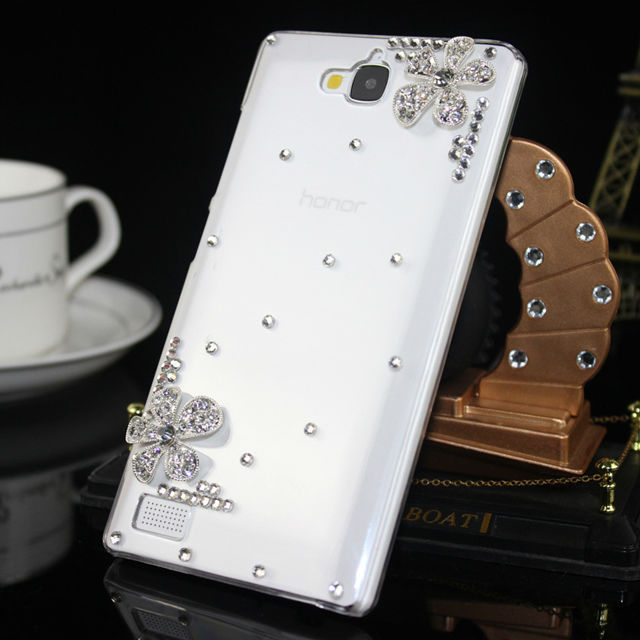 Rhinestone Case for Huawei,For Huawei Cell Phone Crystal Hard Diamond Cover