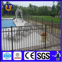 Alibaba hot sale White Residential Ornamental aluminum Fence