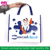 Middle size lovely printing heavy duty durable nonwoven shopping bag cheap