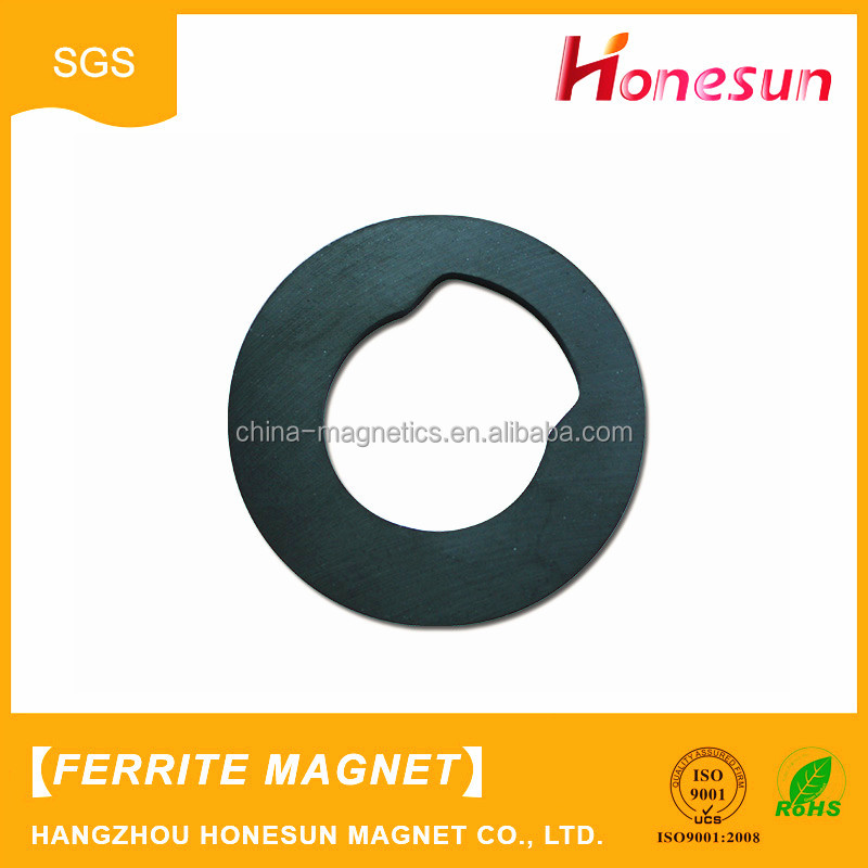 Professional production Cheap ring black ferrite magnetic for sale