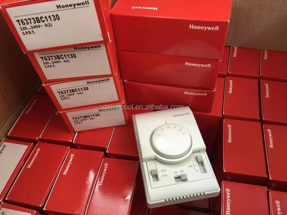 T6373BC1130 Honeywell room thermostat With heating/cooling switch for Air conditiner