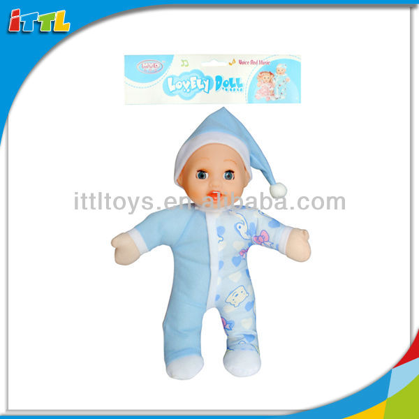 A601641 Plastic Kids Dolls Lovely Craft Baby Mini Boy Doll