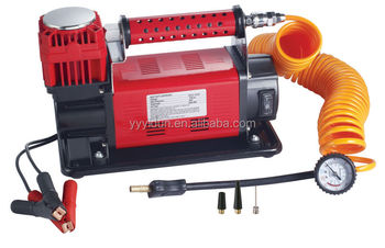 Heavy duty 60mm car air compressor 12V tire inflator