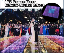 led decoration light for wedding interactive led dance floor