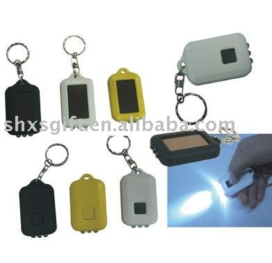 Plastic led keychain light