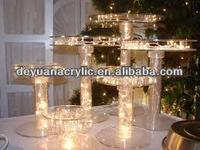 Custom Acrylic Cake Stands with Lights