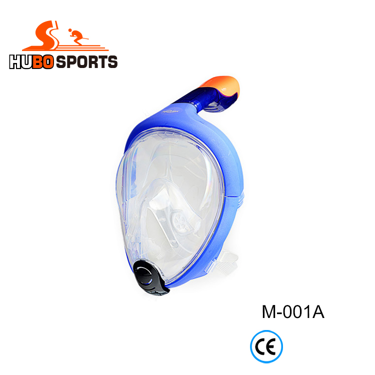 diving set easybreath 180 degree panoramic snorkel mask full face