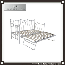 Low Price Wrought Single Iron Bed Designs