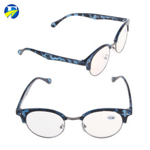 FJ brand cheap pc eyeglasses hand made plassic reading glasses