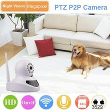 wifi connection 1MP pan/tilt wirless cctv camera