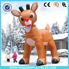 Inflatable Deer Christmas lawn ornament lowes christmas inflatables