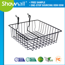 Wholesale stackable metal wire egg hanging baskets for shelf