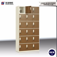 15 door stainless steel locker