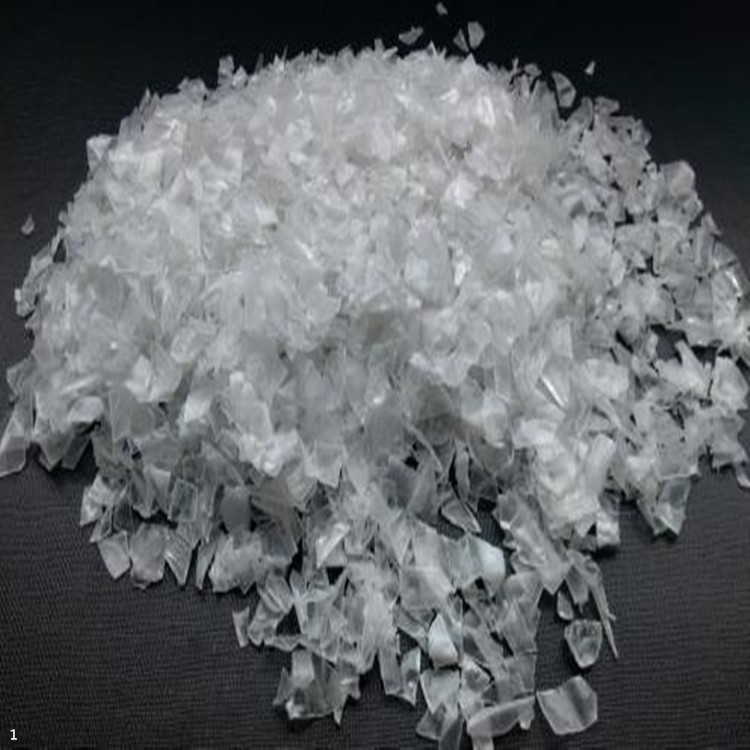 recycle PET bottle flakes