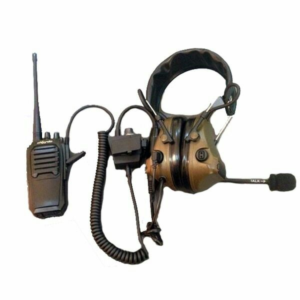 Chierda C3 Military walkie talkie <strong>communication</strong> Headset for two way radio
