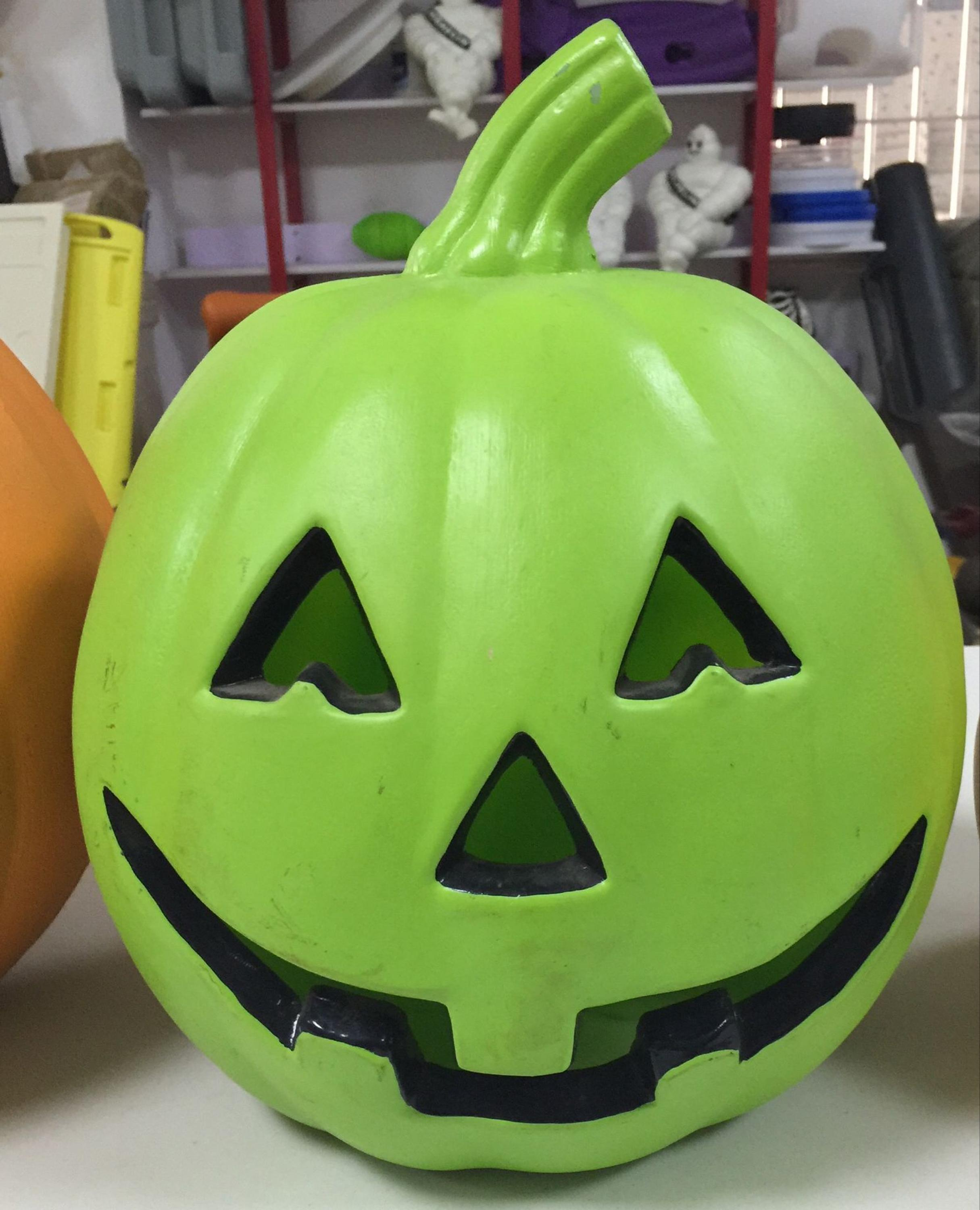 OEM Pumpkin candy box, plastic Pumpkin decorations, kids Halloween toys
