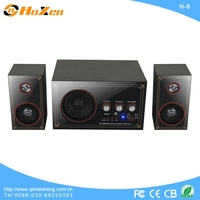 2014 Stereo vibration best 2.1 deluxe speaker with 2 years warranty