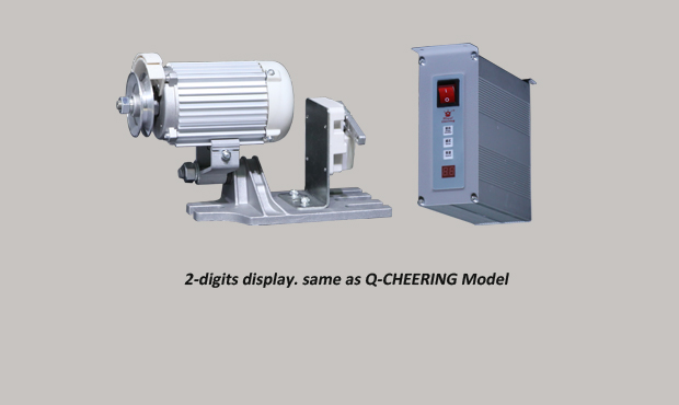 Speed regulate industrial sewing machine motor