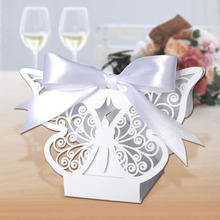 butterflies favor boxes craft butterfly laser cut paper fold candy sweet boxes pattern